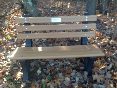 2016 Northwest Park Bench
