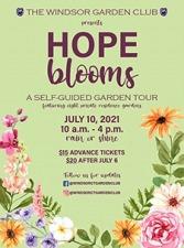 Windsor Garden Club Garden Tour 2021