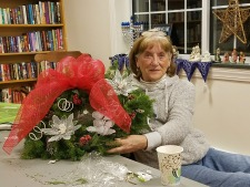 Windsor Garden Club Wreath Making