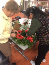 Windsor Garden Club Wreath Making